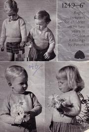 Patons 1249 Raglan sweaters