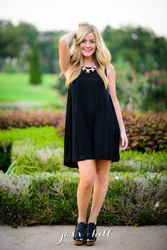 Black Not So Basic Tank Dress · jaxx + hill · Online Store Powered by Storenvy