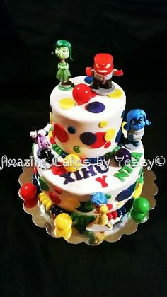 Inside out cake