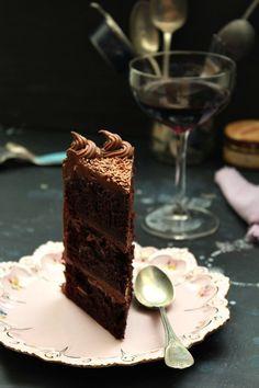 Chocolate & Nutella Layer Cake by Nina Gabelica