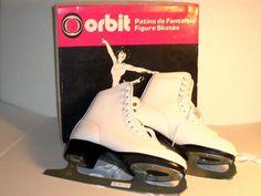 New Women's Orbit Figure Skates CCM Boot Size 7 Model W-OR with Original Box #Orbit