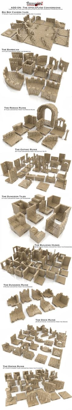 3D Printable scenery building system that allows you to create amazing modular buildings | Crowdfunding is a democratic way to support the fundraising needs of your community. Make a contribution today!