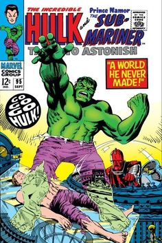 Tales to Astonish #95 - The Power Of The Plunderer!/A World He Never Made!