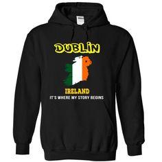 Dublin, Ireland - #gift #appreciation gift. LIMITED TIME => https://www.sunfrog.com/LifeStyle/Dublin-Ireland-qaeizwnhlg-Black-7465144-Hoodie.html?68278