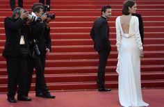 Marion Cotillard en robe Christian Dior