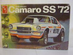 Votre stock - Page 35 Vintage Models, Old Models, Hot Rod Movie, Chevrolet Camaro, Camaro Ss, Camaro Models, Car Box, Monogram Models, Plastic Model Cars