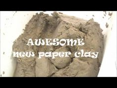 New Paper Clay Experience There are so many paper clay recipes available on line, I have spent the better part of the year trying different recipes and maybe...