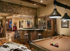 Welcome to our gallery of the best man cave ideas. A man cave is the perfect male retreat to escape to a place where they can do as they please and enjoy their favorite activities without disrupting the household. Man caves are typically designed to inhabit a spare room, basement, backyard shed...