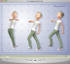Free 3D training | Disney's 12 principles of animation: exaggeration | 3D World