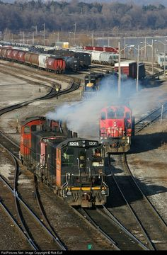 RailPictures.Net Photo: SOR 1201 Southern Ontario Railway EMD SW1200 at Hamilton, Ontario, Canada by Rob Eull
