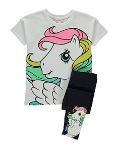 My Little Pony T-shirt and Leggings Set @George at Asda