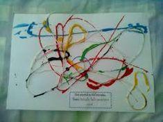 Resultado de imagem para atividade de artes para maternal com tinta