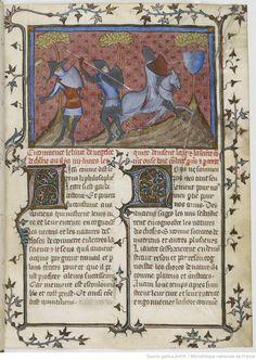 Flavius Vegece, De la chose de chevalerie , [De epitoma rei militaris], traduit en français par Jean de Vignay.