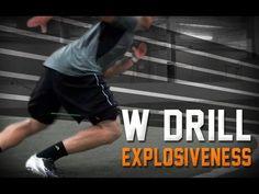 Kbands W Drill | Football Defensive Speed | Corner Back drills