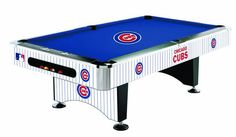 Chicago Cubs Pool Table