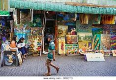Image result for market painting