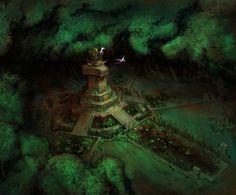 Lustrie, par Michael Franchina #WarhammerOnLine #AgeOfReckoning #MythicEntertainment