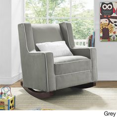 Baby Relax Abby Rocker - Overstock™ Shopping - Big Discounts on dorel asia Gliders & Ottomans