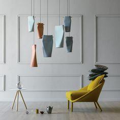 Suspension en céramique DENT By Miniforms design Skrivo