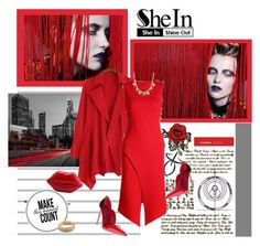 """""""SheIn 298."""" by carola-corana ❤ liked on Polyvore featuring shein"""