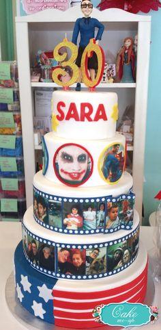 #pescara #cakemeup #pastadizucchero #decorazione #topper #cake #torta #compleanno #30anni #bigcake