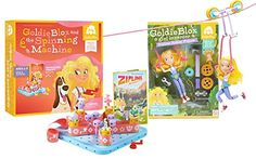 GoldieBlox Zip line and Spinning Machine ** For more information, visit