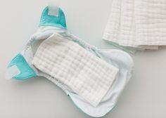 bumGenius newborn cloth diaper inserts