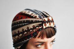 turbante de cabelo com molde - Pesquisa Google