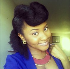 Natural hair, Updo like this very much