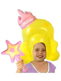 Air Hedz Princess Wig and Wand at theBIGzoo.com