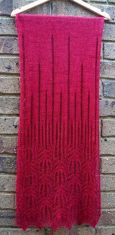 Ravelry: Panna Frost Flower Lace Shawl pattern by Foldi knit
