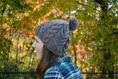 Ravelry: Brentwood pattern by Brittney Elbertson Bobble Hats, Knit Hats, Quick Knits, How To Start Knitting, Hand Knitting, Ravelry, Crocheting, Knit Crochet, Stitch