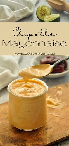 Chipotle Mayo Sauce is full of smoky chipotle flavor and a kick of spice. Once you get a hold of this creamy chipotle sauce you are going to want to put it on everything. This chipotle mayonnaise recipe is going to be your foods new best friend! Chipotle Mayonnaise, Mayonnaise Recipe, Chipotle Sauce, Yummy Food, Delicious Recipes, Easy Recipes, Savoury Recipes, Savoury Dishes, Amazing Recipes