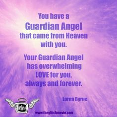 Do you ever wish you'd known about your Guardian Angel when you were young and scared?  If you think you'd like to talk with your child or grandchild about his/her Guardian Angel, you're invited to listen to Lorna Byrne's advice below.  Our gift.  Love y'all! 3 minutes Segment 1 Just CLICK on the post or CLICK HERE: