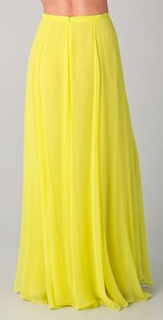 Women's chiffon aline skirt bohemian maxi skirt long by clothnew88 ...