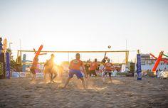 Beach volley. ©Visit Jyväskylä Photo: Tero Takalo-Eskola.