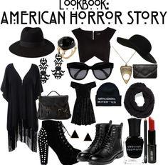thelittlebrunette: Lookbook : American Horror Story Coven                                                                                                                                                     More