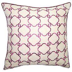 Morgan Ornate Throw Pillow @Zinc_Door