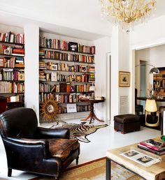 dustjacket attic: Interior Design | A Home In Barcelona - glam eclectic european style
