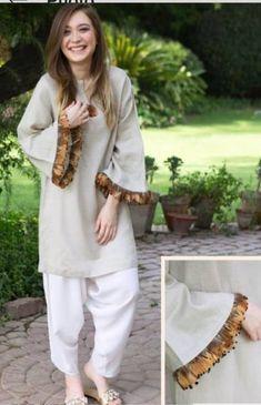 Super moda casual chic ideas necklaces Ideas is part of Pakistani dress design - Pakistani Fashion Casual, Pakistani Dresses Casual, Pakistani Dress Design, Stylish Dresses, Simple Dresses, Casual Dresses, Fashion Dresses, Casual Outfits, Girls Dresses