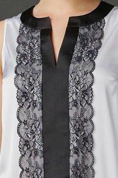 Best 12 61 Trendy churidar neck designs to try in 2019 Salwar Designs, Churidar Neck Designs, Kurta Neck Design, Kurta Designs Women, Neck Design For Kurtis, Neck Designs For Suits, Neckline Designs, Designs For Dresses, Dress Neck Designs