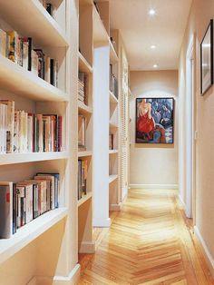 Aprovecha el pasillo - Recibidores - Decoracion interiores - Interiores, Ambientes, Baños, Cocinas, Dormitorios y habitaciones - CASADIEZ.ES