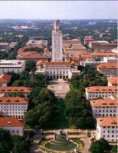 UT Austin campus. Beautiful.