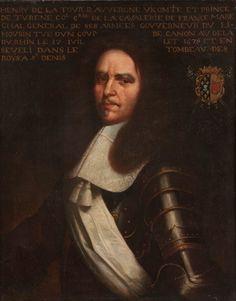 Henri de La Tour d'Auvergne, Vicomte de Turenne, Prince de Turenne, Maréchal de France, 1611-1675.