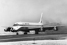UAL Douglas DC-8, 1963