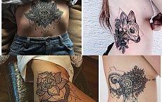 Mega stylowe tatuaże - kobiece, pełne charyzmy [GALERIA]