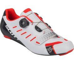 1fb87c1798b56 Scott - Road Team Boa Herren Rennradschuh (weiß rot). Scott Road Team Boa  Rennradschuh Herren online kaufen bei Keller Sports ...
