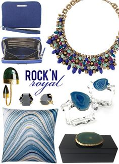 Rock'N Royal: Fall Color Trends for Decor + Fashion