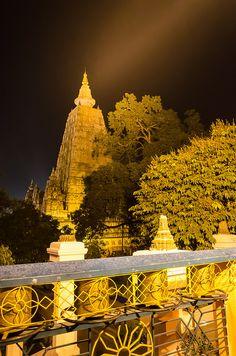 Mahabodhi Temple, Bodhgaya, Bihar, India