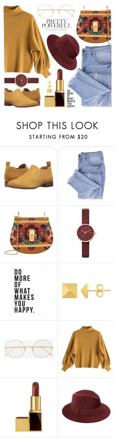 """Pretty powerful"" by milena-j-pantic ❤ liked on Polyvore featuring G.H. Bass & Co., Essie, Chloé, Skagen, Native State, Tom Ford, Saks Fifth Avenue, StreetStyle, polyvorefashion and zaful"